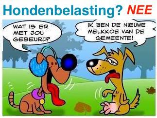 Geen Honden- En Reclamebelasting