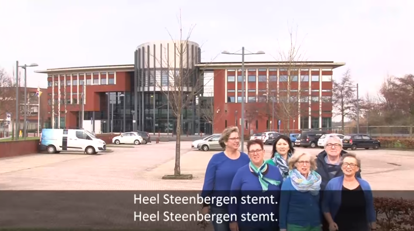 """Heel Steenbergen Stemt"" – Het Verkiezingslied"
