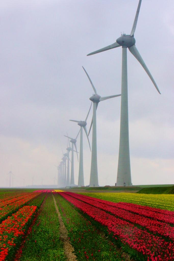 Veertig Megaton Niet Recyclebaar Kunststof-afval Windturbines In 2050